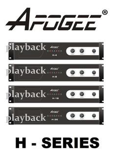 Potencia Apogee H8 Amplificador 600w Tipo Ampro Gbr Audiolab