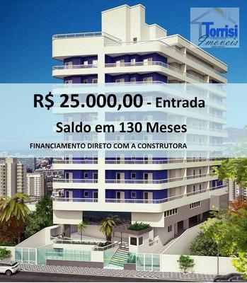 Apartamento Em Praia Grande, 01 Dormitório, Sala Com Sacada. Lazer Completo No Caiçara Ap1790 - Ap1790