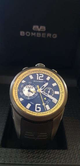 Bomberg 1968 Cronografo Suizo Amarillo