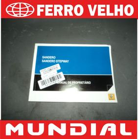 Manual Renault Sandero Stepway 2009 2010 2011 Original Flex