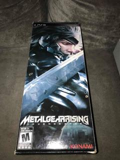 Metal Gear Rising Revengeance Edición Especial!!!para Ps3