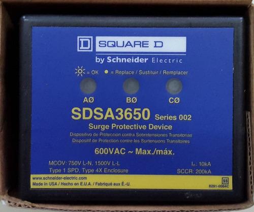 Supresor De Picos Trifasico Sdsa 3650 Schneider Electric