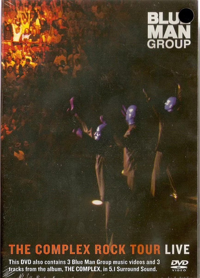 Dvd Blue Man Group - The Complex Rock Tour Live