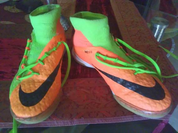 Nike Hipervenom, De Niño, Número 36. Usados, En Buen Estado