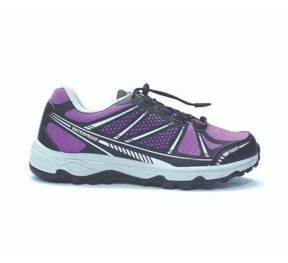 Zapatillas Nexxt Endurance Purple/black Waterproof