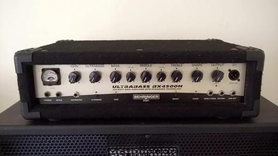 Cabeçote Behringer Bx4500h Ultrabass Com Caixas