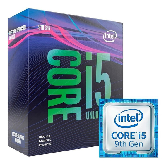 Processador I5 Intel Core Lga 1151 Hexa Core I5-9600kf 3.7gh