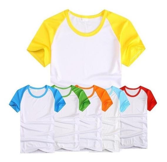 Camisetas Raglan Para Sublimação