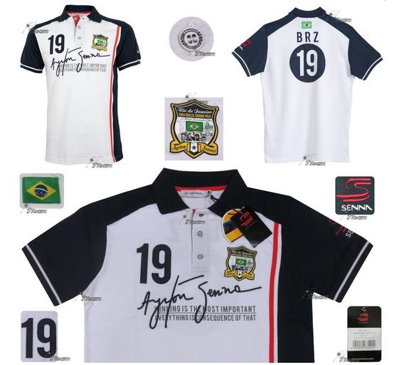 Polo Ayrton Senna # 19 Toleman Producto Genuino De Coleccion
