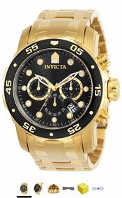 Relogio Invicta Gold