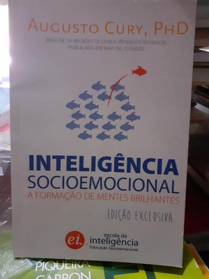 Livro Inteligência Socioemocional Augusto Cury-raro+brinde