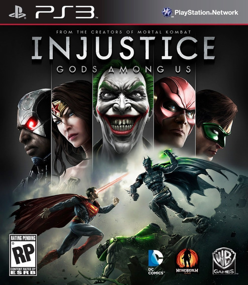 Injustice: Gods Among Us Ps3 Leia A Descrição!!!!!