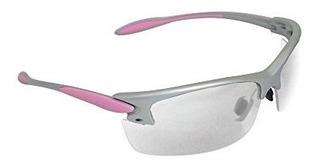 Radian Womans Shooting Y Safety Glass Silver Frame