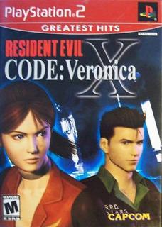 Resident Evil Code Veronica Ps2 Usado Meses