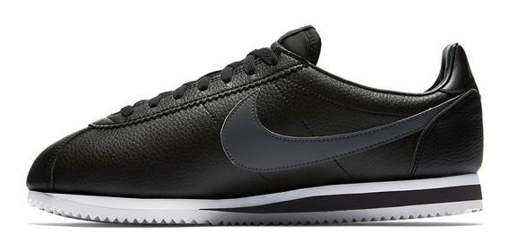 Tênis Nike Cortez Classic Black Leather 1972,pronta Entrega