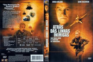 Atras Das Linhas Inimigas Dvd Original Lacrado