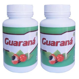 2 Potes De Guaraná 100 Cápsulas 500mg Fitoforme