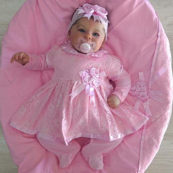 Saída De Maternidade Menina Princesa Baby Flor Tam: P