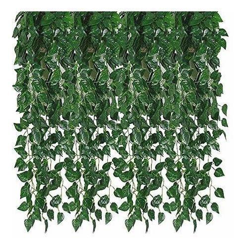Guirnalda Hiedra Artificiales Plantas Colgantes Decoracion