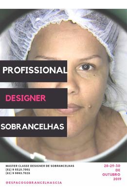 Master Class De Designer De Sobrancelhas