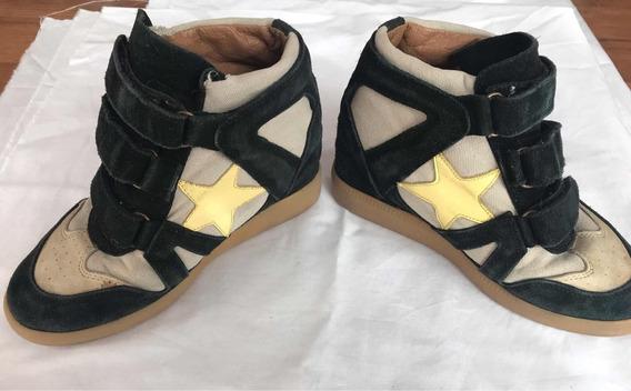 Zapatillas Paroulo Taco Escondido ! Talle 36