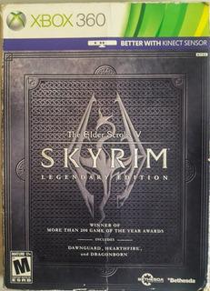 The Elder Scrolls V: Skyrim Legendary Edition Xbox 360 Usado