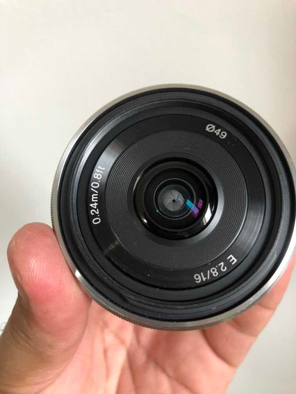 Sony 16mm 2.8 Usada
