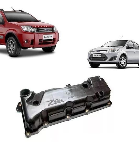 Tampa De Valvulas Cabeçote Ford Ka Fiesta Courier Focus Ecosport 1.0 1.6 8v Zetec Rocam Flex Gasolina Com Ou Sem Sensor