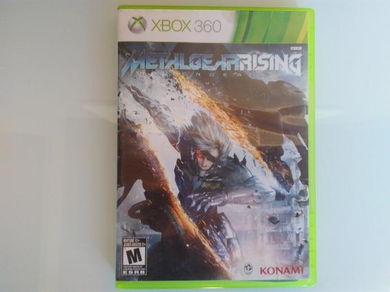 Metal Gear Rising Revengeance Original Xbox 360 Físico