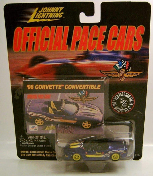 Auto 98 Corvette Convertible Johnny Lightning Cars Cole Rdf1