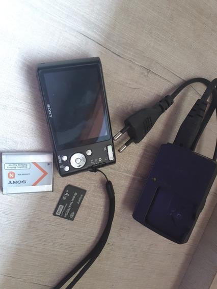 Câmera Digital Semi Nova Sem Marca De Uso