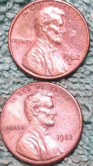 One Cent Lincon 1982 Smal Date