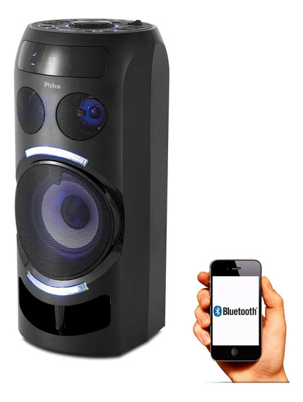Caixa Bluetooth Mp3 Usb Charge 150w Potente Philco Pcx 3500