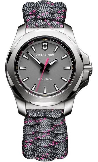 Reloj Victorinox Inox V 241771 Paracord Para Dama Oficial