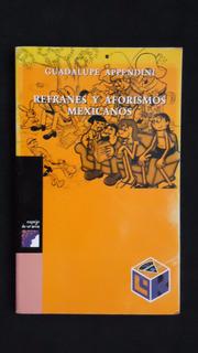 Refranes Y Aforismos Mexicanos, Guadalupe Appendini