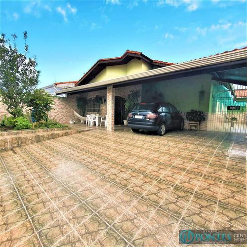 Casa No Bairro Continental Em Peruíbe - Ca00711