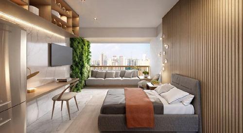 Imagem 1 de 8 de Studio Com 1 Dormitório À Venda, 24 M² Por R$ 382.078,00 - Vila Madalena - São Paulo/sp - St0146