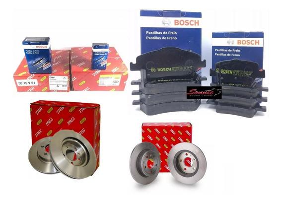 Disco E Pastilha Dianteiro Traseiro Corolla 2013 Trw Bosch