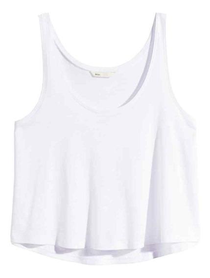 Musculosa H&m Blanca