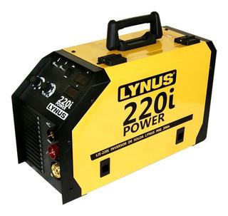 Inversora De Solda Mig Portatil Lynus Lis 220 I