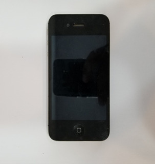 Celular iPhone 4s A1387 Preto - Com Defeito