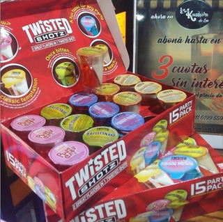 Twisted Shotz X15 Box Party 20% Juego Bebidas Eeuu C A B A