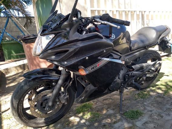 Yamaha Xj6 F Preta