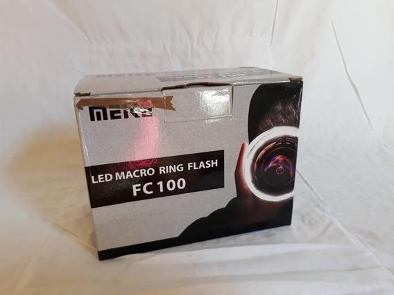 Flash Circular Macro Meike Fc100 Para Nikon Canon Olympus