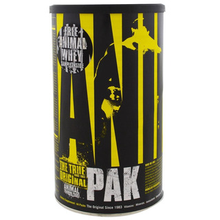 Animal Pak 44 Paquetes Universal Nutrition.