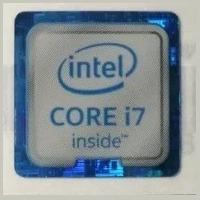 Adesivo Original Intel Core I7 6º Geração