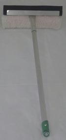 Rodo Combinado Cabo 68cm Alumínio Janela, Box Banheiro,autos