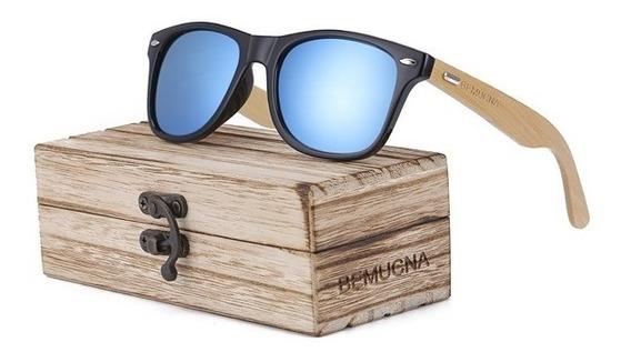 Óculos De Sol Bemucna Uv 400 Original Unissex Promoção