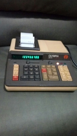 Calculadora Olympia Cpd 575 Relíquia Funciona