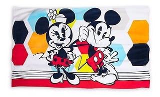 Toalla Minnie Y Mickey Retro De Disney Store